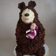 Torta veľký čokoládový medveď pre Ondrejka