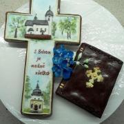 Torta na tortu pre kňaza