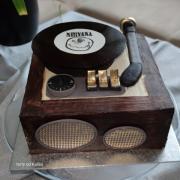 Torta Retro gramofón