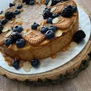 Torta Karamelový cheesecake