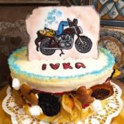 Torta Nádejnej motorkárke