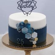 Torta Narodeninová pre 25 ročného muža
