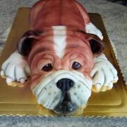 Torta Bulldog
