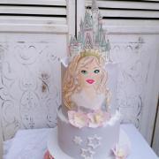 Torta Snehová princezná pre Natalinku