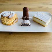 Torta Karamelovy veternik, čokoládový špic, francúzsky kremes a makovo visnova štrúdľa