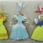 Torta perníkové šaty pre princezny
