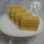 Torta citrónové rezy