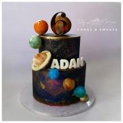 Torta Skúsime to cez vesmír