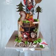 Torta Babka Jezibabka