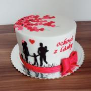 Torta Ockovi z lásky