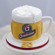 Torta Sladké pivko k päťdesiatke