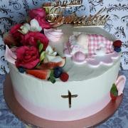 Torta Torta na krstiny pre Tamarku