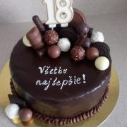 Torta Torta plná čokolády