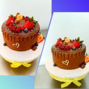 Torta Čokoládová s katamelom