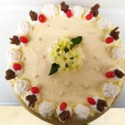 Torta Veľkonočné jahodové pokušenie bez laktózy a lepku
