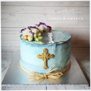 Torta Jemná tortička na krst