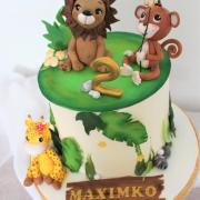 Torta veselá safari tortička