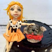Torta Majka chcela na narodky psa :)