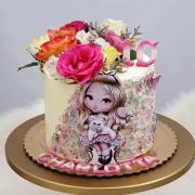 Torta Narodeninová torta pre Charlottku
