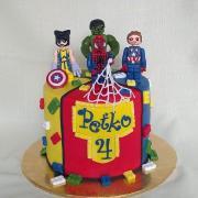 Torta lego pre Peťka