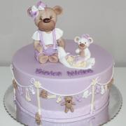 Torta Krstinová pre Violet Kláru