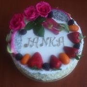 Torta narodeninová pre vnučku