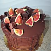 Torta figy a čokoláda