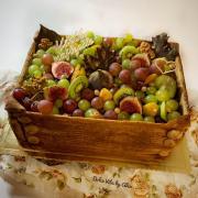 Torta Jesenná tortička s debničkou z medových plátov