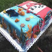 Torta Nemo a Dory+Marschall