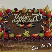 Torta Narodeninová k 70 tke