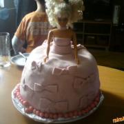 Torta Zuzankina barbie :-)