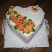 Torta Srdce