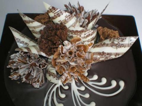 Torta samá čokoláda - recept postup 1