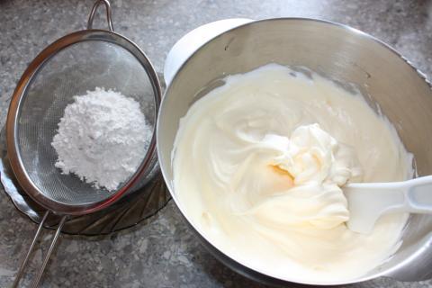Tiramisu torta - recept postup 1