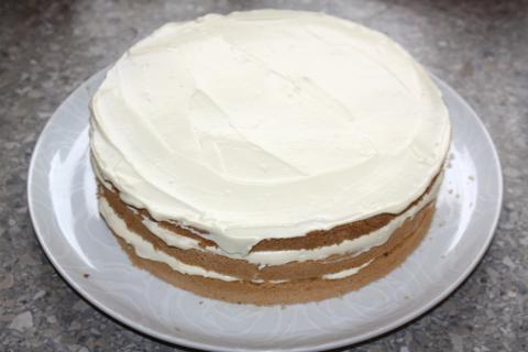 Tiramisu torta - recept postup 7