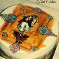 Torta detviansky tanečník