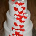 Torta menšia svadobná