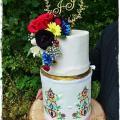 Torta Slovensko-Juhoafrická svadobná v mojom podaní