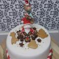 Torta Vianočna tortička