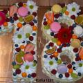 Torta netradičná k 18tke