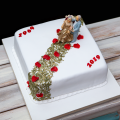 Torta Zlatá svadba