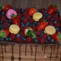 Torta čokoládovo-ovocná