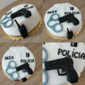 Torta Policajná pre Alexa :)