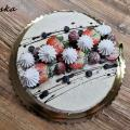 Torta tvarohovo ovocná dobrotka