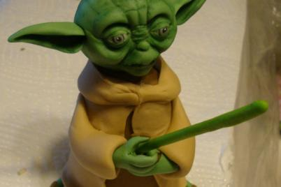 Star wars - Yoda - foto postup