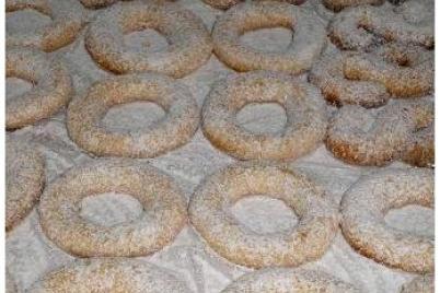 Škoricovo-orechovo vanilkové kolieska - recept