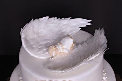 Krídla z jedlého papiera - foto postup