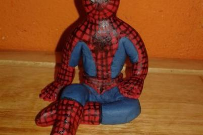spiderman - foto postup