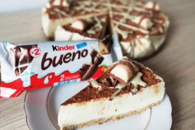 Kinder bueno cheesecake - recept
