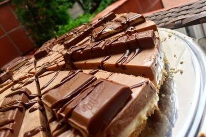 MILKA cheesecake - recept